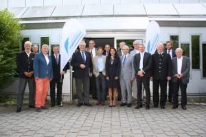 Die Mitglieder des Kuratoriums vor der Sitzung im Münchner Haus des Sports.