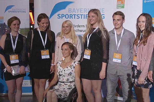 Stiftungssportler beim Bayerischen Sportpreis 2018